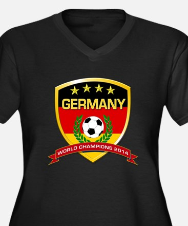 Germany World Champions 2014 Plus Size T-Shirt
