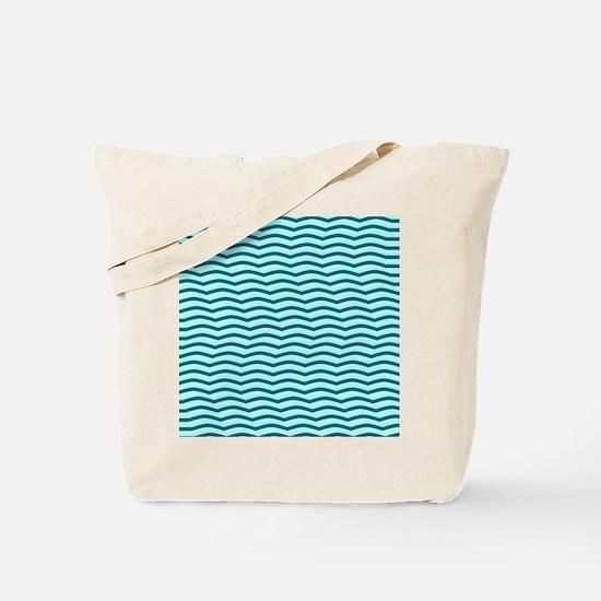 Moving Waves Tote Bag