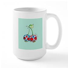 Sugar Skull Cherry Mugs