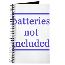 BATTERIES NOT INCLUDED Journal