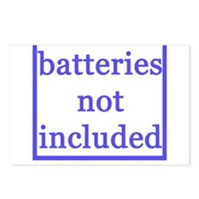 BATTERIES NOT INCLUDED Postcards (Package of 8)