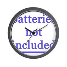 BATTERIES NOT INCLUDED Wall Clock