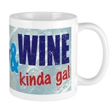 Im A Hockey Wine Kinda Gal Mugs