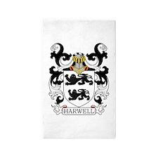 Harwell Family Crest 3'x5' Area Rug