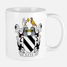 Kaye Family Crest Mugs