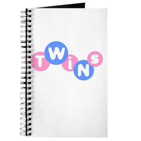 Twins (Pink/Blue) Journal