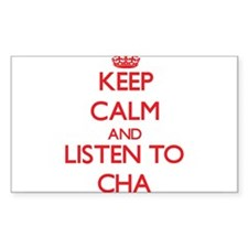 Keep calm and listen to CHA Decal