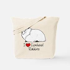 I Heart Lionhead Rabbits Tote Bag