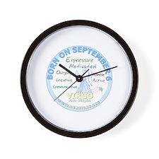 September 6th Birthday - Virgo Personal Wall Clock