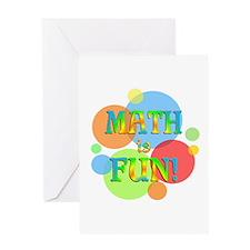 Math is Fun Greeting Card