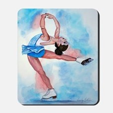 Ice Skater Layback Spin Mousepad