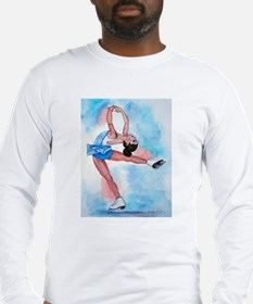 Ice Skater Layback Spin Long Sleeve T-Shirt