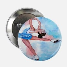 Ice Skater Layback Spin Button