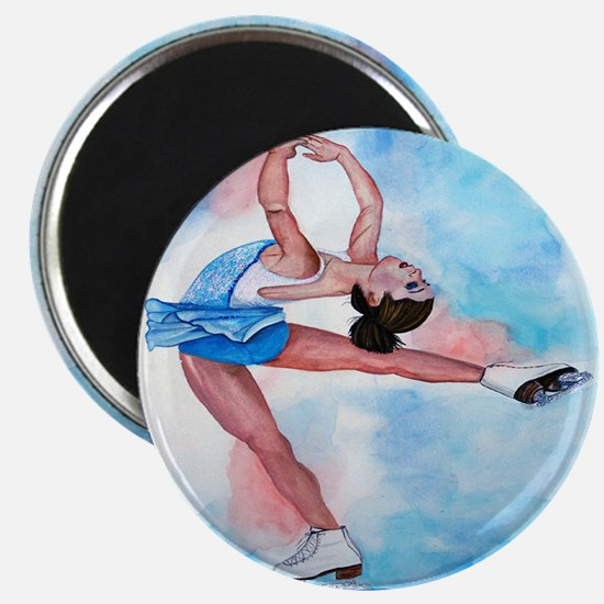 Ice Skater Layback Spin Magnet