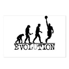 EVOLUTION Basketball Postcards (Package of 8)