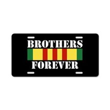 Vietnam Brothers Forever Aluminum License Plate