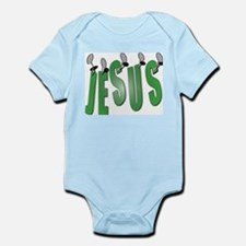 Jesus Nailed Infant Creeper