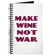 Make Wine Not War Journal