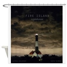 Fire Island Island. Shower Curtain