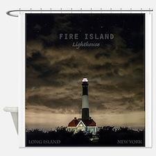 Fire Island Island. Shower Curtain