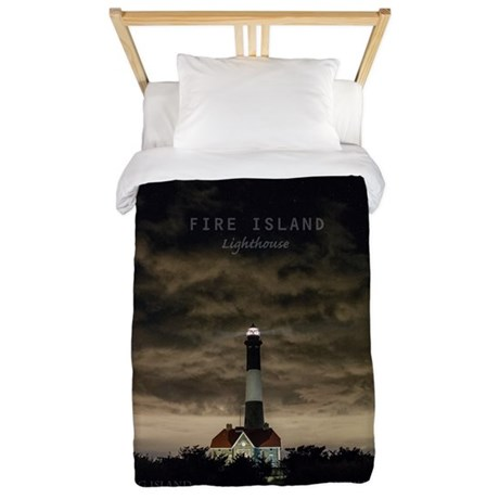 Fire Island Island. Twin Duvet
