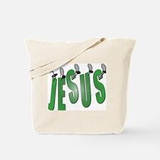 Jesus Nailed Tote Bag