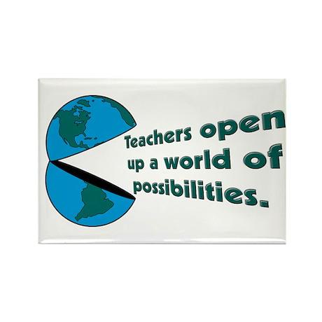 Social Studies Teacher Gifts Rectangle Magnet (100