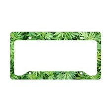 Marijuana Plant License Plate Holder