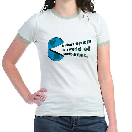 Social Studies Teacher Gifts Jr. Ringer T-Shirt