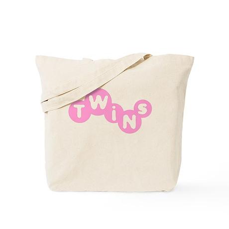 Twins (Pink) Tote Bag
