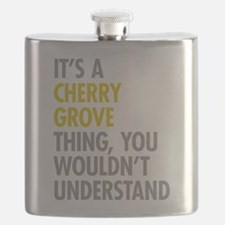 Its A Cherry Grove Thing Flask