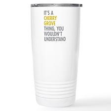Its A Cherry Grove Thin Travel Mug