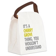 Its A Cherry Grove Thing Canvas Lunch Bag