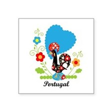 Portuguese Rooster Sticker