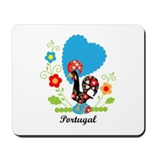 Portuguese Rooster Mousepad