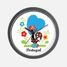 Portuguese Rooster Wall Clock
