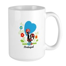 Portuguese Rooster Mugs