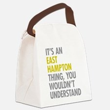 Its An East Hampton Thing Canvas Lunch Bag