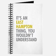 Its An East Hampton Thing Journal