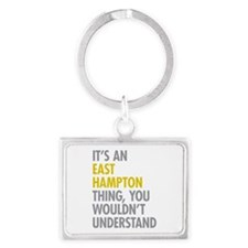 Its An East Hampton Thing Landscape Keychain