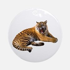 Mad Tiger Ornament (Round)