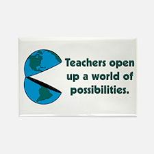Presents for teachers Rectangle Magnet