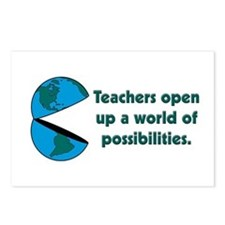 Presents for teachers Postcards (Package of 8)
