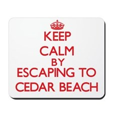 Keep calm by escaping to Cedar Beach New York Mous