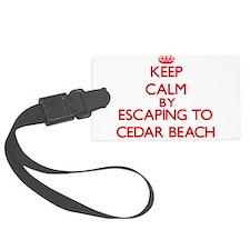 Keep calm by escaping to Cedar Beach New York Lugg