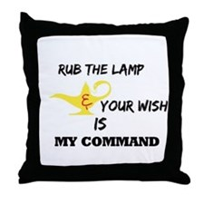 RightOn Make a wish Throw Pillow