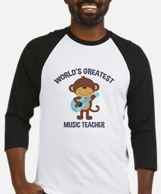 Worlds Greatest Music Teacher Monkey with Guitar B