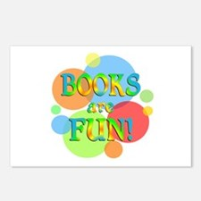 Books are Fun Postcards (Package of 8)