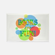Books are Fun Rectangle Magnet