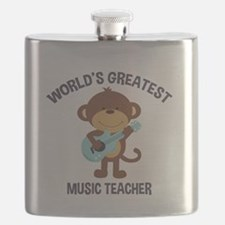 Worlds Greatest Music Teacher Monkey with Guitar F